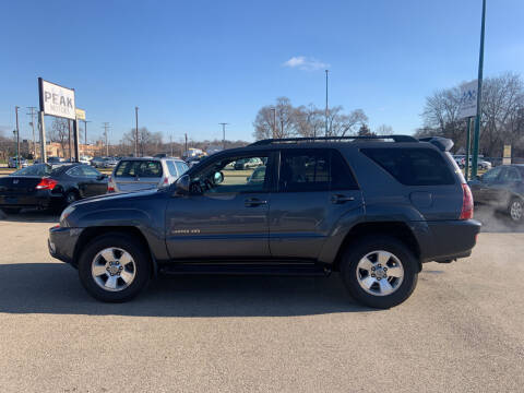 2005 Toyota 4Runner for sale at Peak Motors in Loves Park IL