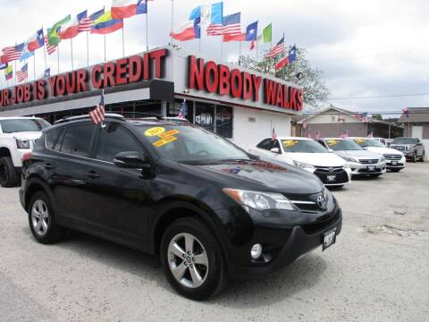 2015 Toyota RAV4 for sale at Giant Auto Mart 2 in Houston TX