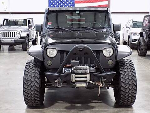 2008 Jeep Wrangler Unlimited for sale at Texas Motor Sport in Houston TX