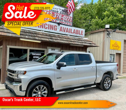 2021 Chevrolet Silverado 1500 for sale at Oscar's Truck Center, LLC in Houston TX