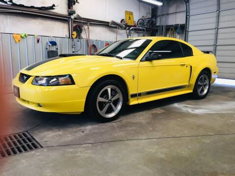 2003 Ford Mustang for sale at Vanns Auto Sales in Goldsboro NC
