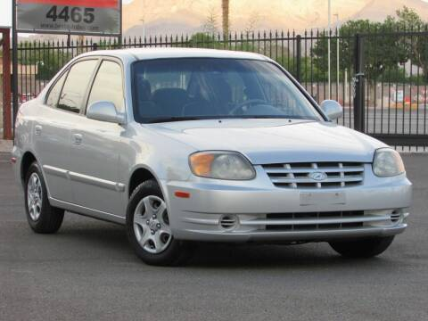2004 Hyundai Accent for sale at Best Auto Buy in Las Vegas NV
