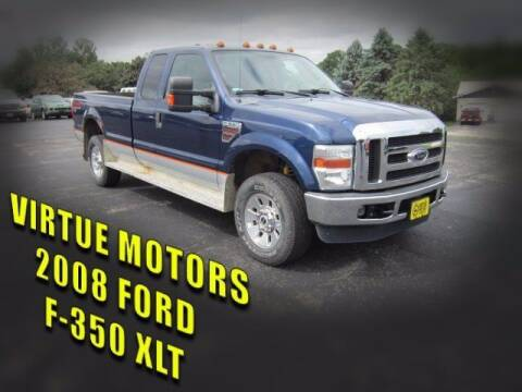 2008 Ford F-350 Super Duty for sale at Virtue Motors Used in Darlington WI