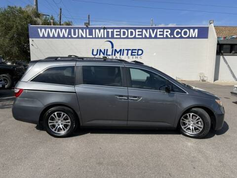 2013 Honda Odyssey for sale at Unlimited Auto Sales in Denver CO
