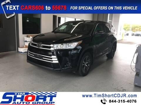 2018 Toyota Highlander for sale at Tim Short Chrysler in Morehead KY