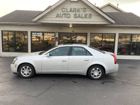 2003 Cadillac CTS for sale at Clarks Auto Sales in Middletown OH