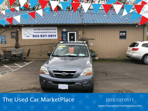 2009 Kia Sorento for sale at The Used Car MarketPlace in Newberg OR