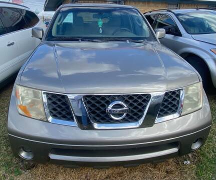2005 Nissan Pathfinder for sale at Ody's Autos in Houston TX