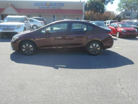 2012 Honda Civic for sale at Gulf South Automotive in Pensacola FL