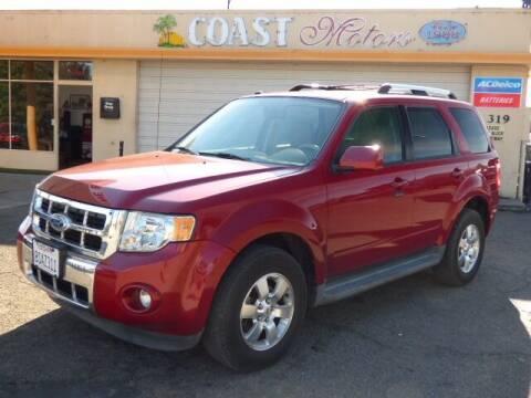 2011 Ford Escape for sale at Coast Motors in Arroyo Grande CA