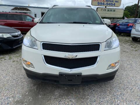 2012 Chevrolet Traverse for sale at Advantage Motors in Newport News VA