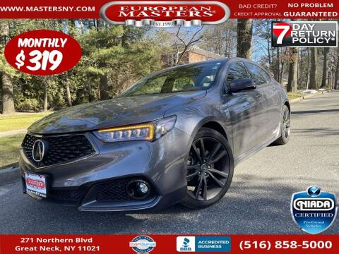 2020 Acura TLX for sale at European Masters in Great Neck NY