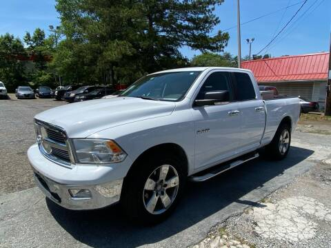 2010 Dodge Ram Pickup 1500 for sale at Car Online in Roswell GA