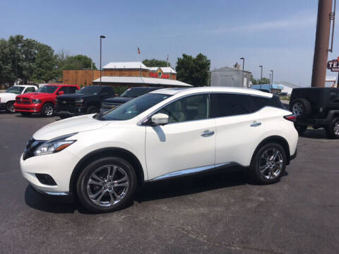 2015 Nissan Murano for sale at Premier Auto Source INC in Terre Haute IN