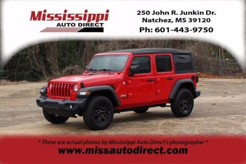 2018 Jeep Wrangler Unlimited for sale at Auto Group South - Mississippi Auto Direct in Natchez MS