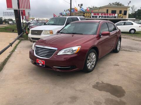 2013 Chrysler 200 for sale at FREDY CARS FOR LESS in Houston TX