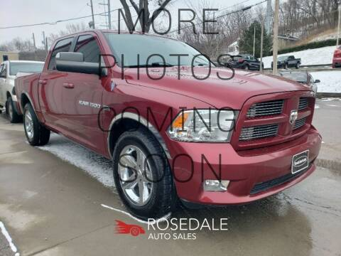 2011 RAM Ram Pickup 1500 for sale at Rosedale Auto Sales Incorporated in Kansas City KS