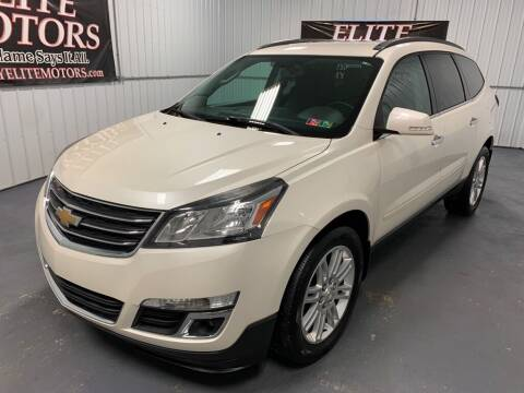 2014 Chevrolet Traverse for sale at Elite Motors in Uniontown PA