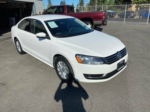2013 Volkswagen Passat for sale at TacomaAutoLoans.com in Tacoma WA
