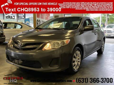 2012 Toyota Corolla for sale at CERTIFIED HEADQUARTERS in Saint James NY