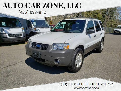 2005 Ford Escape for sale at Auto Car Zone, LLC in Kirkland WA