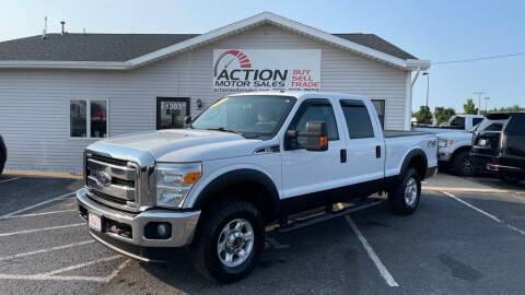 2015 Ford F-250 Super Duty for sale at Action Motor Sales in Gaylord MI