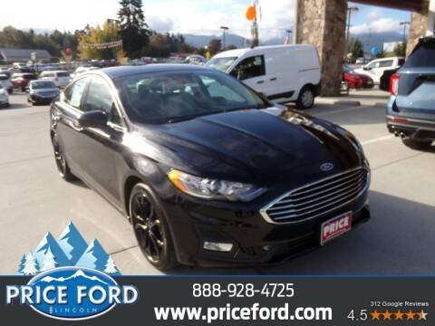 2020 Ford Fusion for sale at Price Ford Lincoln in Port Angeles WA