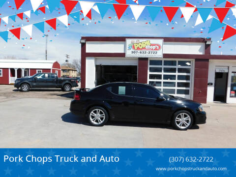2013 Dodge Avenger for sale at Pork Chops Truck and Auto in Cheyenne WY