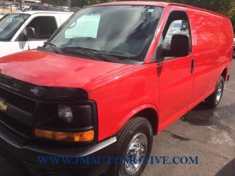 2013 Chevrolet Express Cargo for sale at J & M Automotive in Naugatuck CT