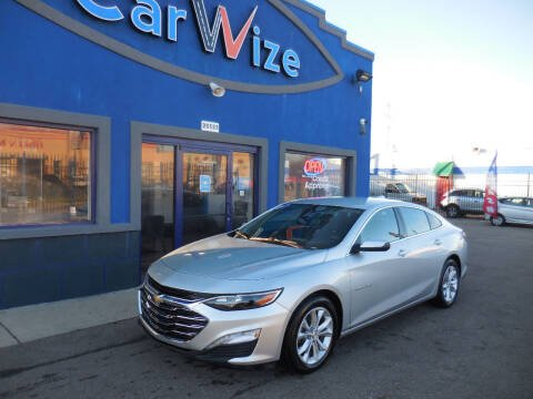 2019 Chevrolet Malibu for sale at Carwize in Detroit MI