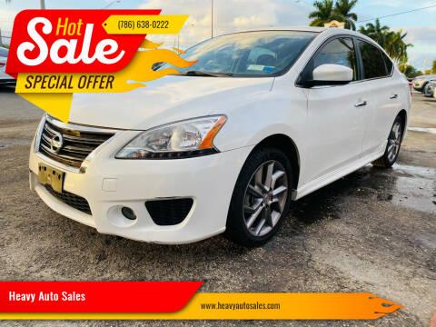 2014 Nissan Sentra for sale at Heavy Auto Sales in Miami FL