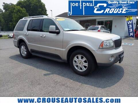 2003 Lincoln Aviator for sale at Joe and Paul Crouse Inc. in Columbia PA