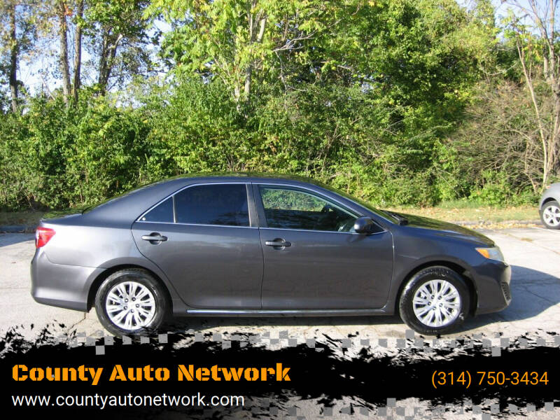 2013 Toyota Camry for sale at County Auto Network in Ballwin MO