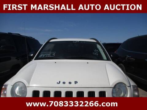 2009 Jeep Compass for sale at First Marshall Auto Auction in Harvey IL