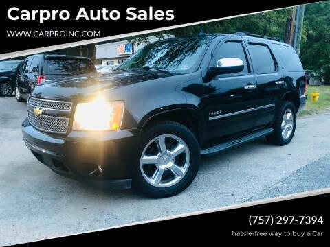 2011 Chevrolet Tahoe for sale at Carpro Auto Sales in Chesapeake VA
