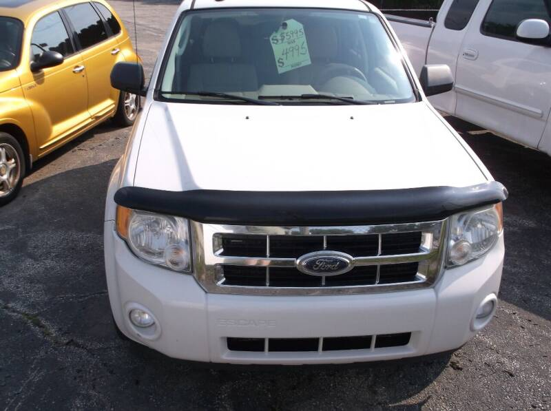 2009 Ford Escape for sale at M & N CARRAL in Osceola IN
