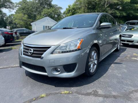 2013 Nissan Sentra for sale at SOUTH SHORE AUTO GALLERY, INC. in Abington MA