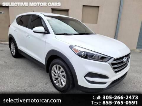 2017 Hyundai Tucson for sale at Selective Motor Cars in Miami FL