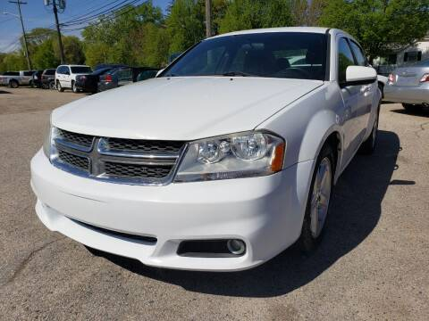 2013 Dodge Avenger for sale at D & D All American Auto Sales in Mt Clemens MI