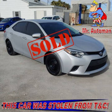 2014 Toyota Corolla for sale at TOWN & COUNTRY AUTO SALES in Overton NV