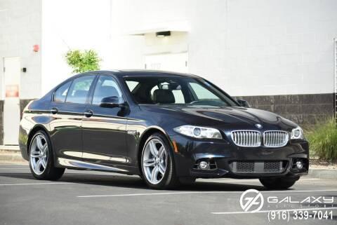 2016 BMW 5 Series for sale at Galaxy Autosport in Sacramento CA