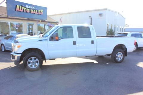 2012 Ford F-350 Super Duty for sale at BANK AUTO SALES in Wayne MI