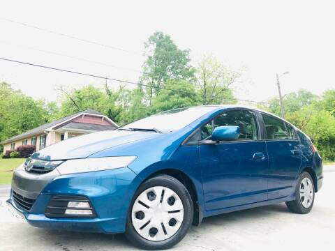 2012 Honda Insight for sale at E-Z Auto Finance in Marietta GA