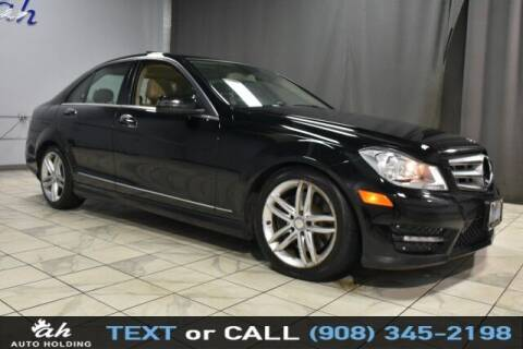 2013 Mercedes-Benz C-Class for sale at AUTO HOLDING in Hillside NJ