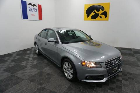 2011 Audi A4 for sale at Carousel Auto Group in Iowa City IA