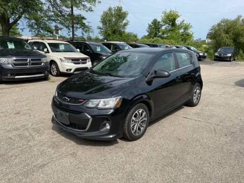 2018 Chevrolet Sonic for sale at Dean's Auto Sales in Flint MI