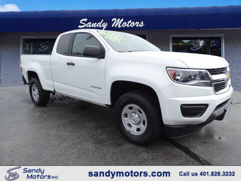 2015 Chevrolet Colorado for sale at Sandy Motors Inc in Coventry RI