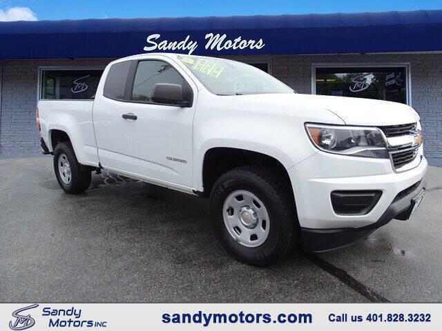 2015 Chevrolet Colorado for sale at Sandy Motors Inc in Coventry RI