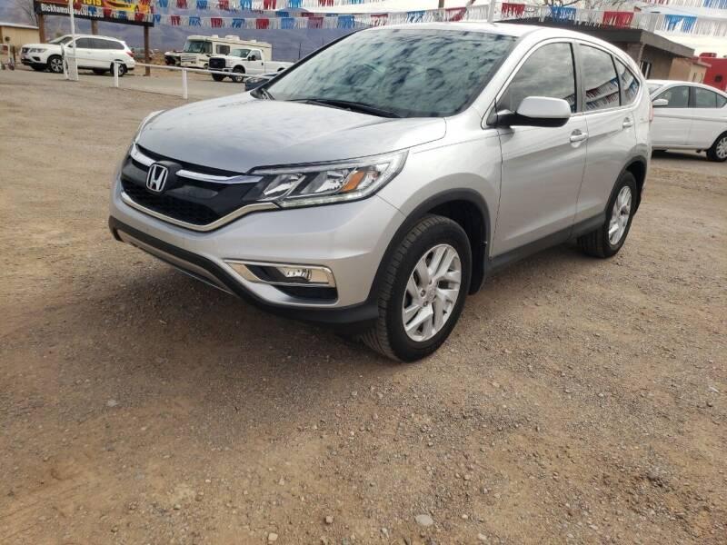 2016 Honda CR-V for sale at Bickham Used Cars in Alamogordo NM