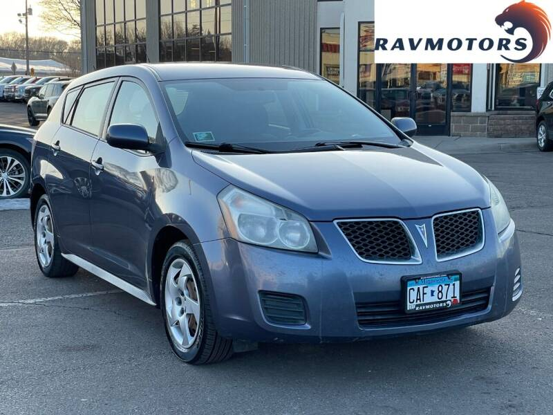 2009 Pontiac Vibe for sale at RAVMOTORS 2 in Crystal MN